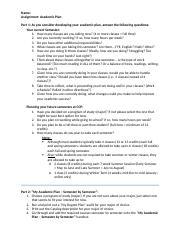 Career Plan Worksheet - My Career Plan Using the Portfolio results ...