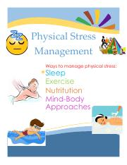 stress management physical