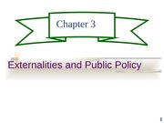 ch03 Externalities and Public Policy