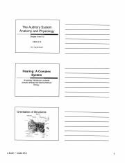 Ch 9 and 10 Auditory System - student notes.pdf