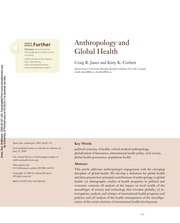 Anthropology and Global Health
