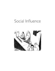 Social Influence Psych
