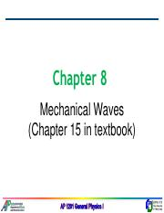 Chapter8-Mechanical Waves
