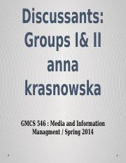 Media and Information Managment B