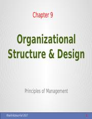 Ch.10 Organizational Structure & Design - Copy - Copy.pptx