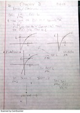 Limits and Continuity- Calculus