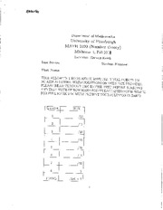Midterm Exam A Solutions on Applied Elementary Number Theory