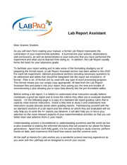 0-READ FIRST-Lab Report Assistant