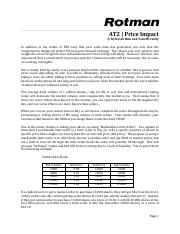 RIT2 Case Brief - AT2 - Price Impact.pdf