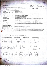 introduction to sets homework MATH 2008