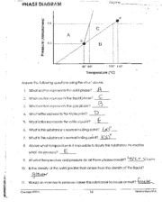 Phase Diagram Worksheet - EWAW.'.'