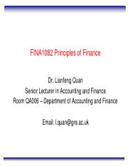 Lecture 20 International Corporate Finance Moodle