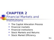 Zhang_student_Chapter 02_Financial Markets