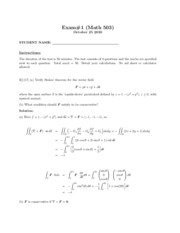 MATH503 Exam 1 Solns
