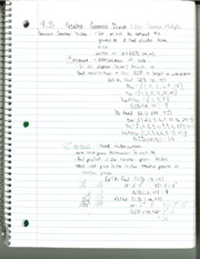 MATH 208 Section 4.3 Notes