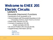 ENEE205 Fall2013 Lecture5 Gomez
