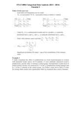 STAT4006Tutorial3