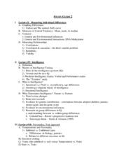 Psych 9c Psychology Fundamentals study guide 2