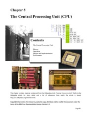 Chapter8-CentralProcessingUnit