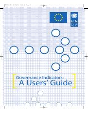 UNDP - Governance Indicators - Users Guide.pdf