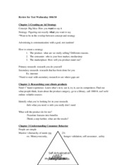 test 1 notes-study guide