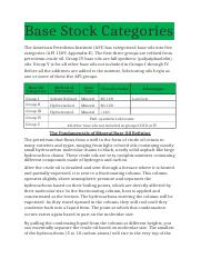 Base Stock Categories.docx