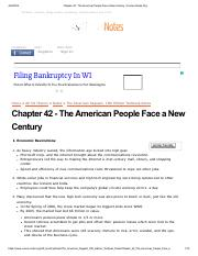 Chapter 42 - The American People Face a New Century | Course-Notes.Org.pdf