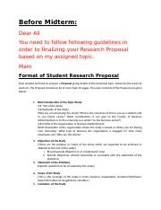 Research Proposal and Research Report Format Sprg 2016 .doc