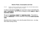 14 - Electric Power & Cost (3-21)