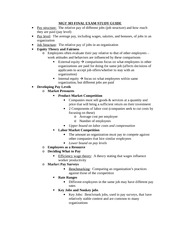 MGT 303 FINAL EXAM STUDY GUIDE