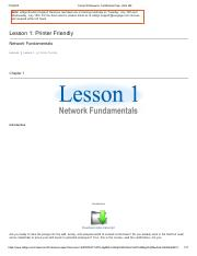 Lesson 1_Network Fundamentals