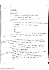 Introduction notes -- experiments, etc.