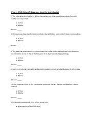 Test 1 Study Questions