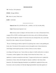 Lottery Case Brief.docx