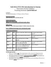 Bohrod CTCS 190 Section Syllabus Fall 2016.pdf