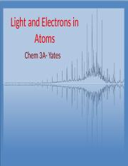 Lecture 9 (Light and Electrons in Atoms).pptx