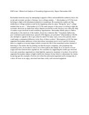 rhetorical analysis essay sweatshop oppression