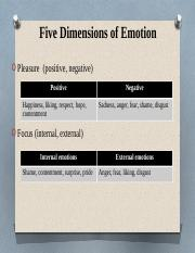 Five Dimensions of Emotion.pptx
