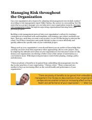 Managing risk throughout the organization.pdf