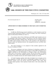 Session of Executive Committee - CE146-08-e