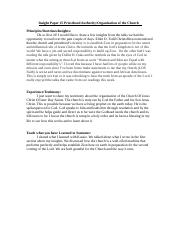 Insight Paper #5 Priesthood Authority .docx