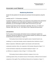 glg 101 groundwater lab worksheet Assignment: deserts lab week eight checkpoint: fossil fuels and minerals glg 101 week eight assignment: groundwater lab discussion questions week nine capstone checkpoint final project: factors and forces of geological features.