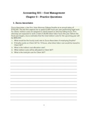 Chapter 3 Practice Questions