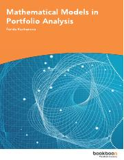Mathematical Models in Portfolio Analysis.pdf