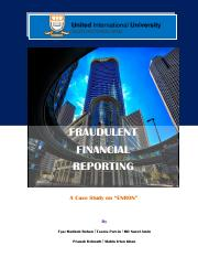 FRAUDULENT FINANCIAL REPORTING-A case study on Enron.pdf