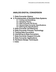 Chapter 2 Sampled Data Systems F