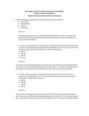 Hull_OFOD9e_MultipleChoice_Questions_and_Answers_Ch06