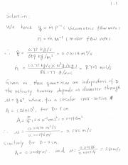 Solutions for Examples (1)