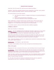 llb sports revision notes
