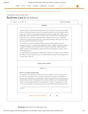 Business Law 13th Edition Chapter 19 Problem 1R Solution _ Chegg.pdf
